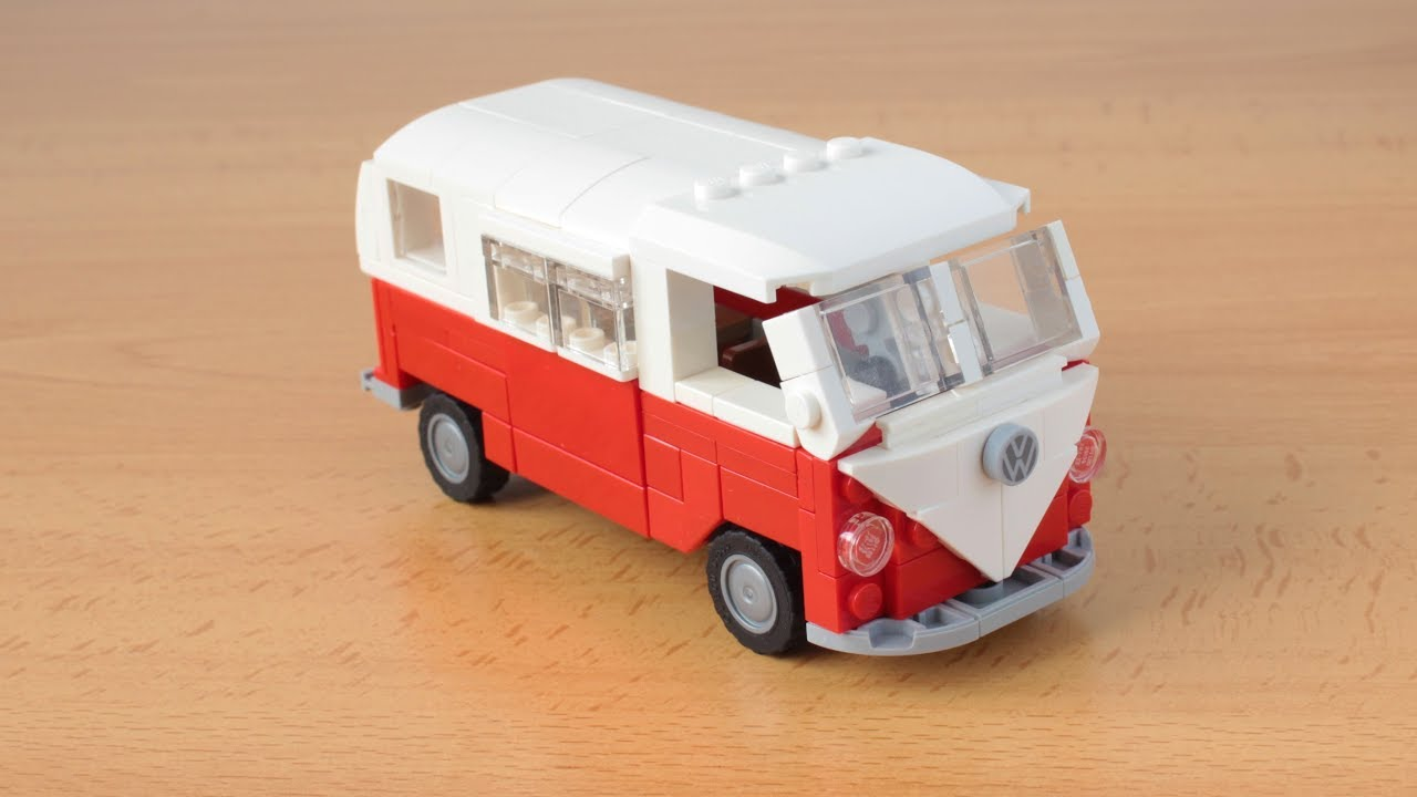 lego volkswagen bus t1 camper moc youtube. Black Bedroom Furniture Sets. Home Design Ideas
