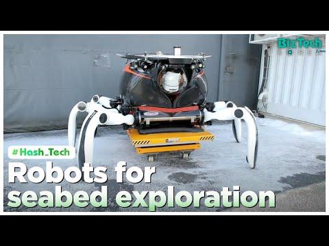 [BizTech KOREA] Robots for seabed exploration [#Hash_Tech]