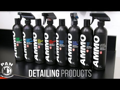 AMMO NYC CAR WASH PRODUCTS REVIEW !!