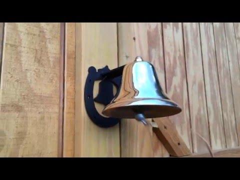Small Brass Dinner Bell