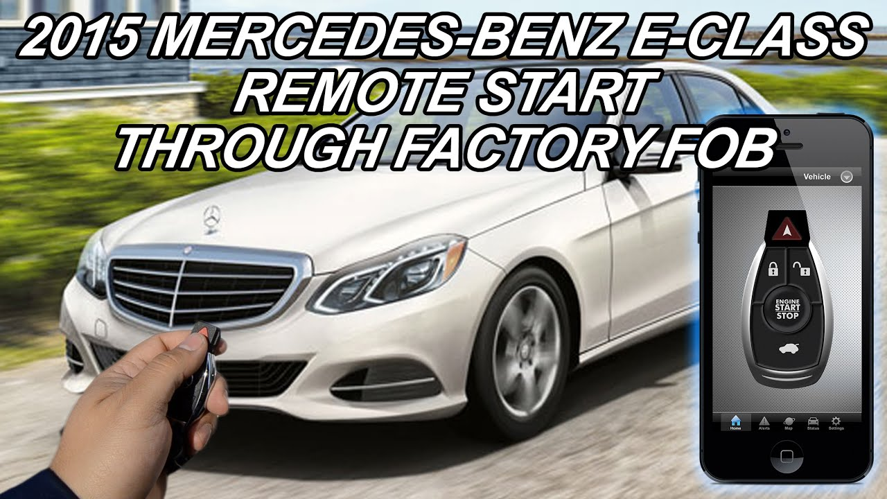 2015 mercedes benz e550 remote start youtube. Black Bedroom Furniture Sets. Home Design Ideas