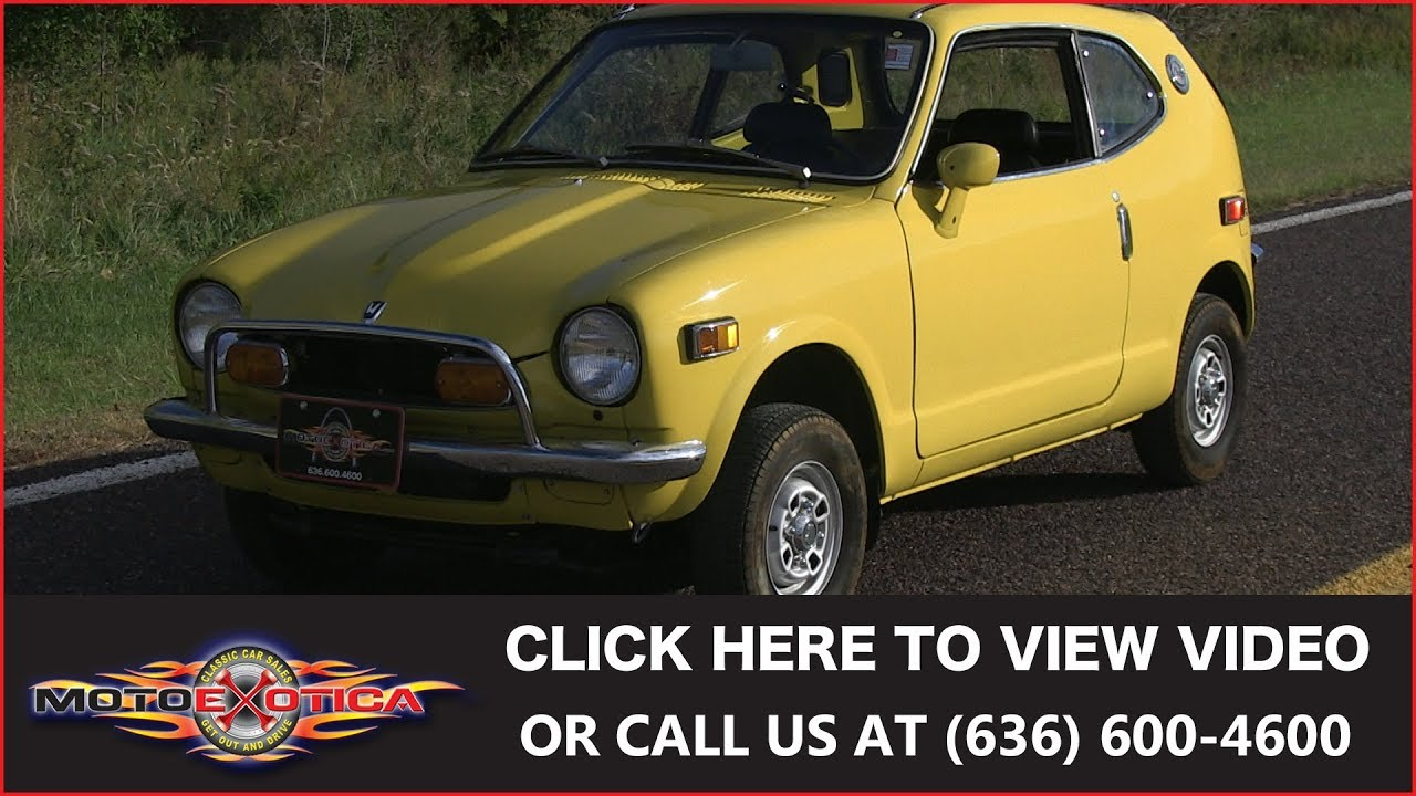 1972 Honda Z600 Coupe For Motoexotica Clic Cars