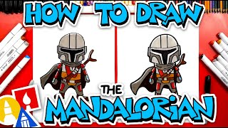 How To Draw The Mandalorian