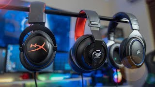HyperX Cloud vs HS50 vs Phontum - Best Midrange Gaming Headsets