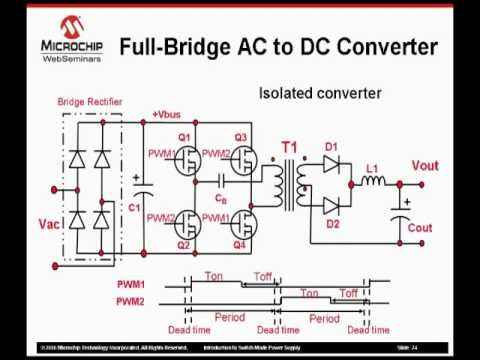 Switched Mode Power Supply Using Dspic Youtube