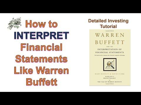 Warren Buffett and the Analysis of Financial Statements