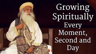 Download lagu Growing Spiritually Every Moment, Second and Day | Sadhguru