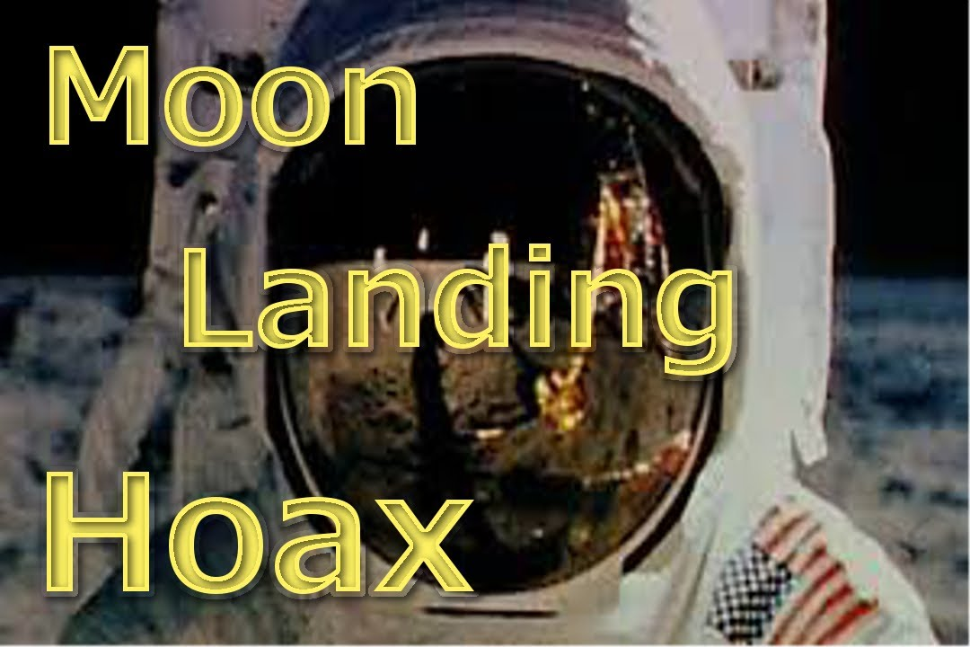 10 Reasons Why The Moon Landing is a Hoax!