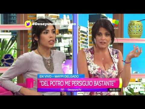 Picante cruce entre Maypi Delgado y Barbie Simons por Juan Martín del Potro