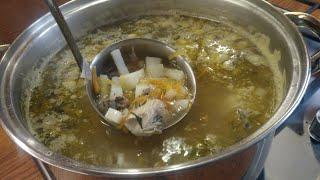 """#Рыбный #Суп с рыбными консервами, скумбрия""""на скорую руку""""  Быстро, сытно и вкусно!"""