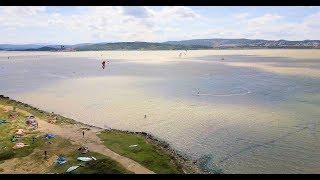SPOT KITESURF Drone 4k : La Nautique / Narbonne / Aude / France