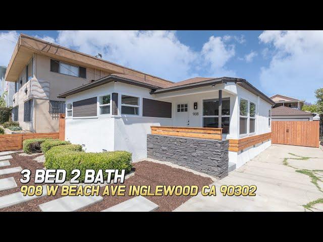 [Virtual Tour] 908 W Beach Ave, Inglewood CA 90302