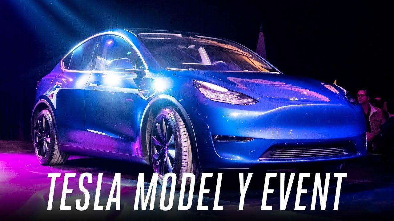 Tesla Model Y event in 3 minutes