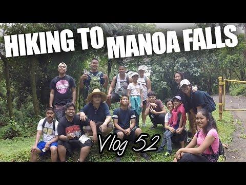 HIKING TO MANOA FALLS - Vlog 52