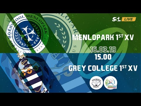 Menlopark 1st XV vs Grey College 1st XV - Noord Suid Rugby Toernooi