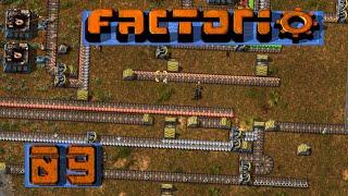 FACTORIO 🚂 Irgendwas fehlt ja immer ► #9 S04 Fabrik Aufbau Simulation deutsch german