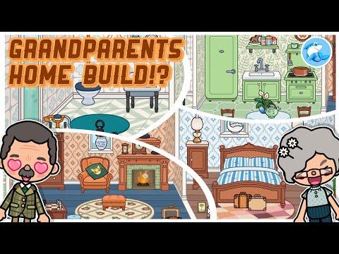 Toca Life World | Grandparents Home!? 👵🏻 (Vintage Vibes Furniture Pack!)