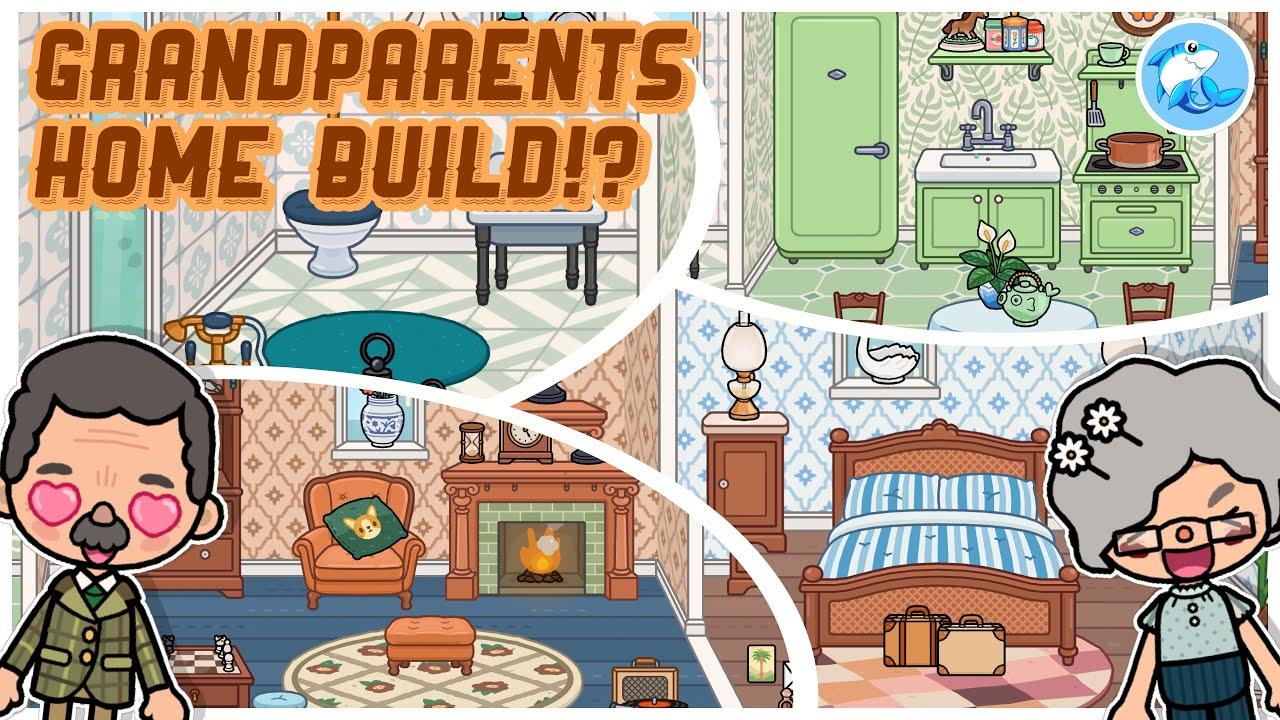 Download Toca Life World   Grandparents Home!? 👵🏻 (Vintage Vibes Furniture Pack!)