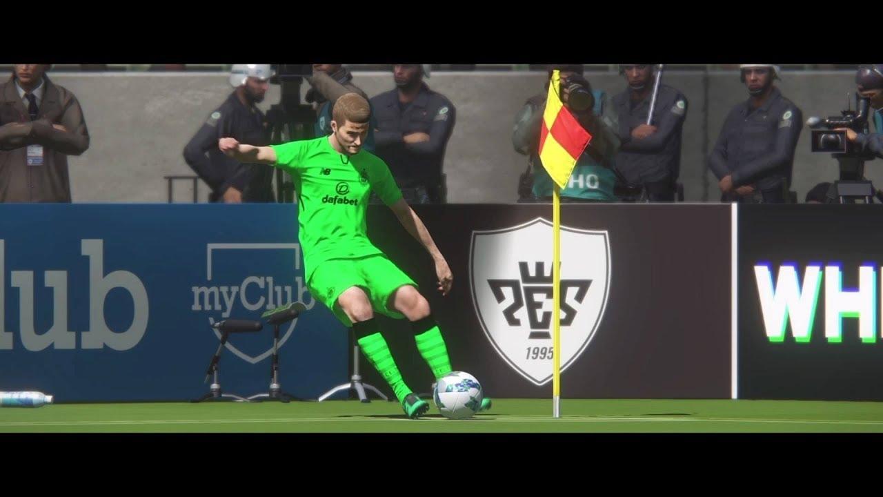 4c5963fd919 PES 2018 - CELTIC FC THIRD KIT 2017-18 - YouTube