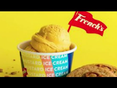 Wayne - WAYNE'S WORLD: French's Mustard Ice Cream!! What do you think?