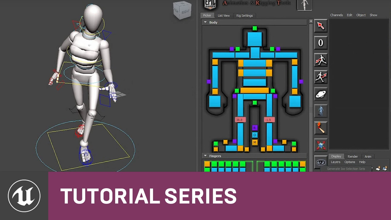 Introduction To Ue4 Animation And Rigging Tools 1 Epic