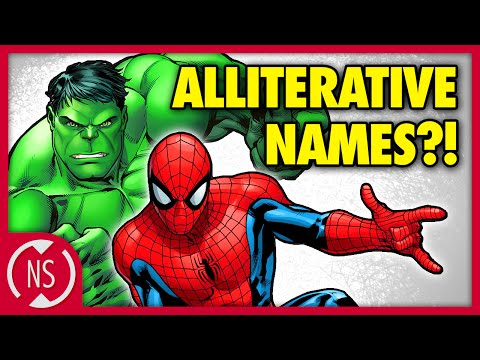 Why Comic Book Characters Have Alliterative Names! || NerdSync
