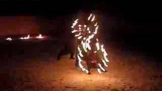 огненные веера