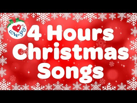 Best Christmas Songs Top Playlist | Merry Christmas 4 Hours 2018