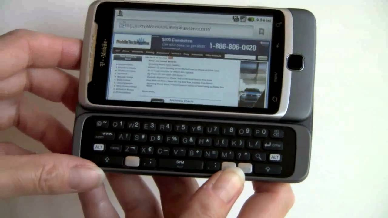 T-Mobile G2 Review - YouTube