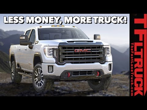 GMC Called Prices For The 2020 Sierra HD
