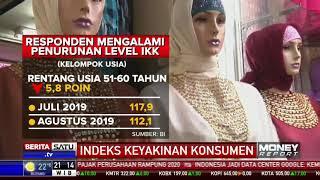 Indeks Keyakinan Konsumen (IKK) Agustus Melemah