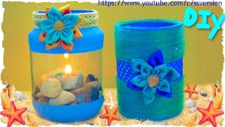 Tutorial: Lanterne e Barattoli Estivi | DIY Summer Lantern and Jar | Collab. FairyFashion Art