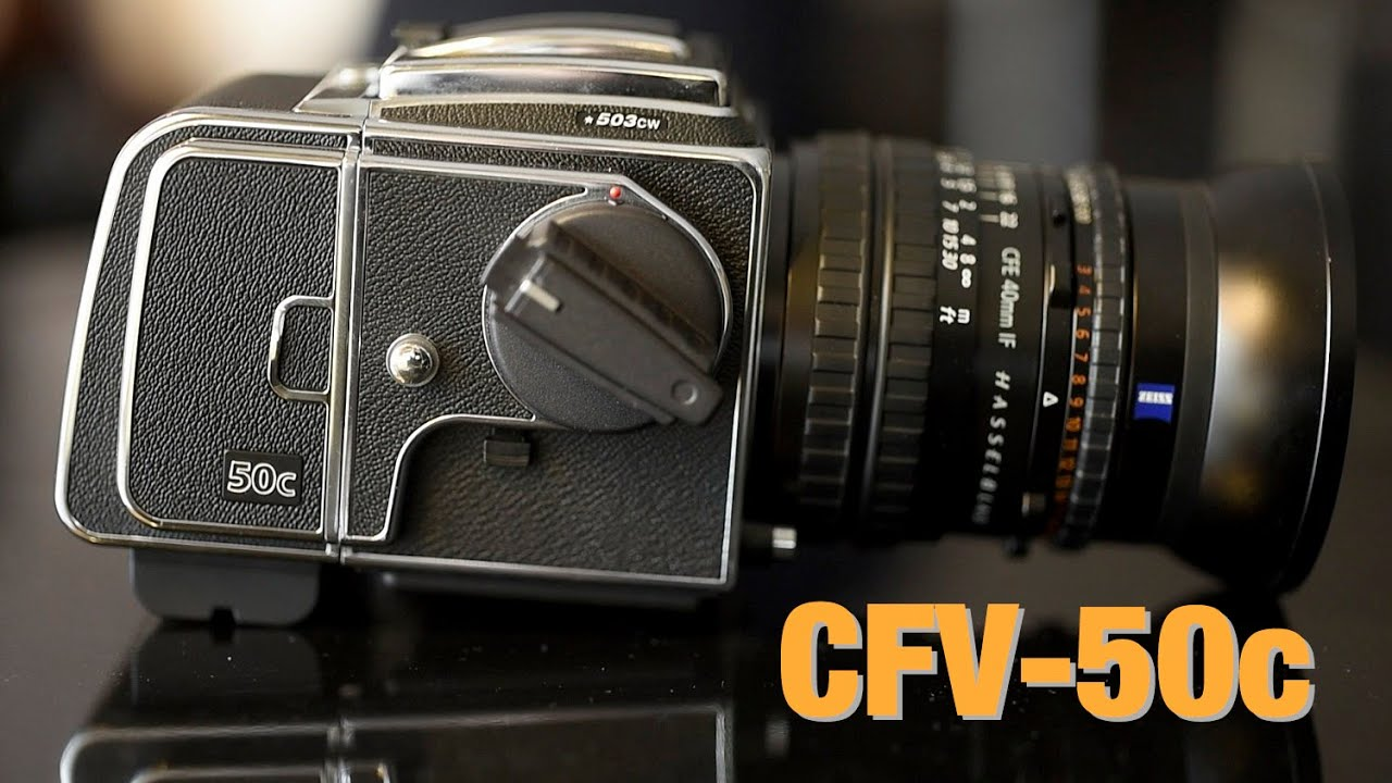 Hasselblad CFV-50c - Testing, Review, Dynamic Range & ISO