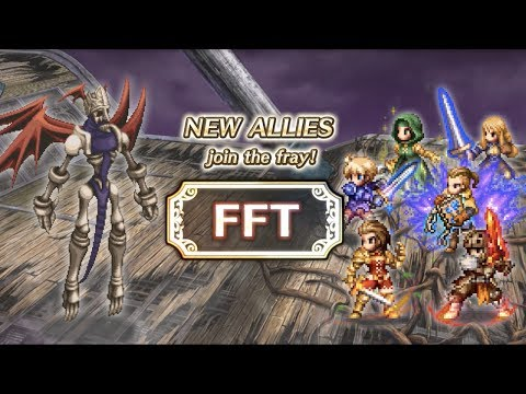 【FFBE】FINAL FANTASY TACTICS – Knight Delita, Mercenary Ramza, Orran and Meliadoul  【Global】