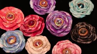 Rose Focal Bead