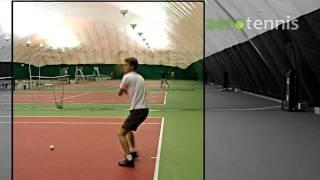 Теннис. Приемы подачи