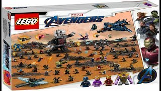 Lego Marvel Avengers Endgame The Big War 75490 Set !!! Photoshop