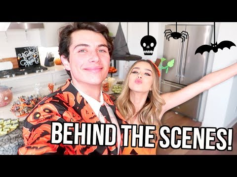Download Youtube: BEHIND THE SCENES! HALLOWEEN VIDEOS!