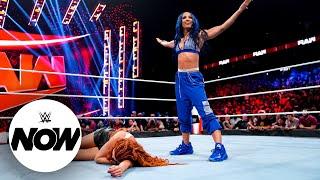 Becky Lynch Sasha Banks and Bianca Belair get set for WWE Crown Jewel WWE Now Oct 8 2021