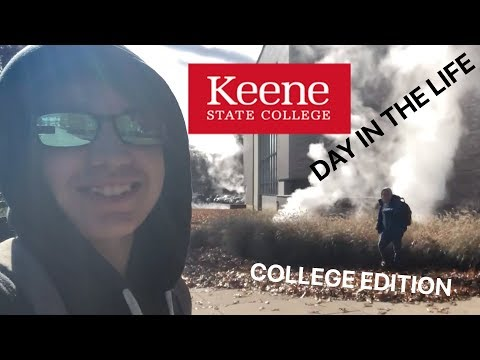 A COLLEGE DAY IN THE LIFE (Keene State College)