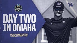 Baseball: CWS Day Two