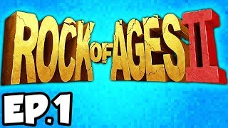 Rock of Ages 2 Ep.1 - RICHARD THE LIONHEART & BRAVEHEART WILLIAM WALLACE!!! (Gameplay / Let's Play)
