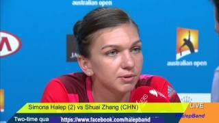 Simona Halep Full Interview before AusOpen 2016 (English & Romanian)