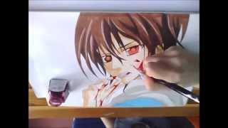 Speed Drawing Kaname Kuran