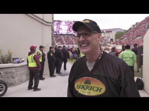 Eckrich Million Dollar Throw: Virginia Tech Vs UNC