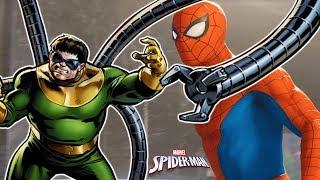 #2 НОВЫЙ ЧЕЛОВЕК-ПАУК встреча с ОСЬМИНОГОМ. Прохождения игры Marvel's Spider-Man летсплей PS4