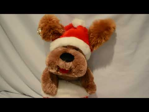 DanDee Christmas Stocking Puppy Dog Singing Musical
