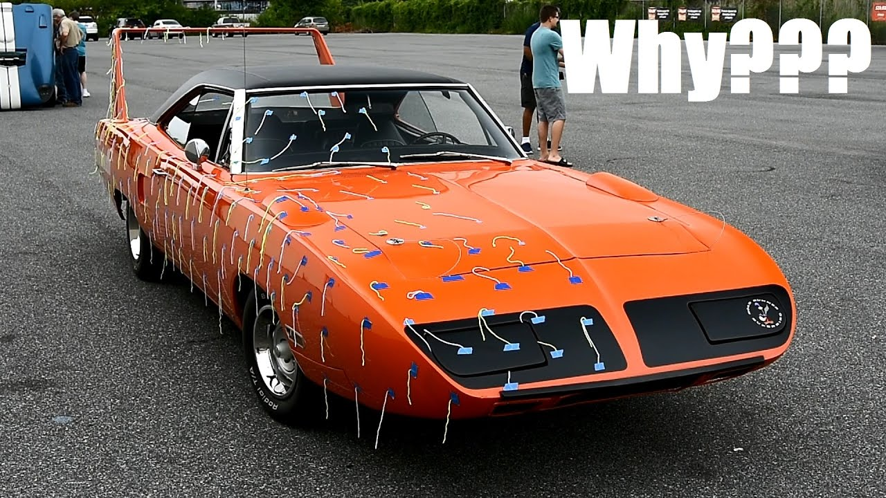 Dodge Car Wallpaper Why Is This Original Plymouth Superbird Covered In