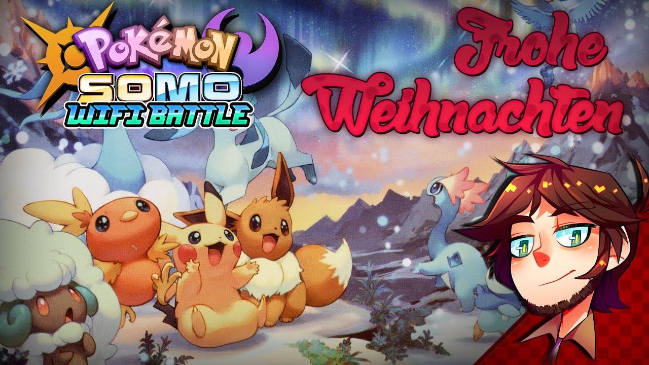 Weihnachtsgrüße Deutsch.Eiseskalte Weihnachtsgrüße Pokemon Ultra Sonne Mond Wifi Battle German Deutsch