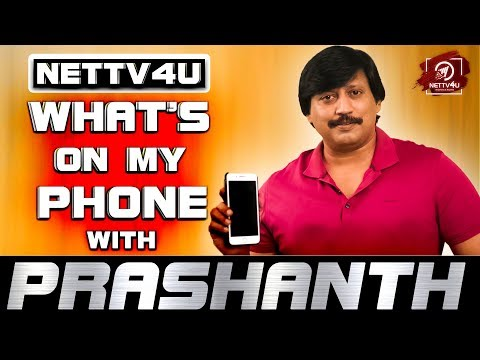 Johnny Movie Reviews Are Positive - Whats on my phone With Topstar Prashanth   Exclusive Interview